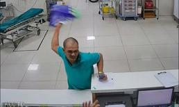 Công an Quảng Bình bắt khẩn cấp kẻ tát nữ điều dưỡng ngã xuống sàn