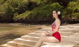 Thân hình nuột nà ở tuổi 48 của Hoa hậu Đền Hùng Giáng My khiến gái đôi mươi cũng phải ngưỡng mộ
