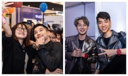 Jack và K-ICM khiến fan 'phát cuồng', Cường Seven điển trai, liên tục thân thiện chụp ảnh cùng fan tại sự kiện