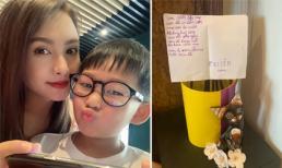 Lỡ làm vỡ bình hoa của mẹ, con trai Bảo Thanh có cách sửa sai cực yêu