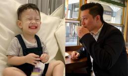 Hình ảnh vui tươi, hồn nhiên của con trai Việt Anh sau khi bố mẹ ly hôn