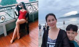 'Nguyệt thảo mai' Hà Hương 'chơi lớn' khi lần đầu tiên đăng ảnh mặc đồ bơi