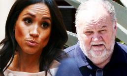 Phản ứng của Meghan Markle khi bị bố đẻ trách móc, tố nói dối trắng trợn
