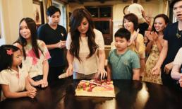 Vợ cũ Bằng Kiều - Trizzie Phương Trinh đón sinh nhật ấm áp bên gia đình và 3 con trai