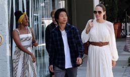 Bất chấp tin đồn tìm bạn trai mới, Angelina Jolie vui vẻ cùng con trai gốc Việt và 2 con gái đi chơi