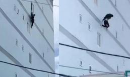 Thanh niên Tây ngáo đá tưởng mình biết bay, nhảy từ tầng 4 khách sạn ở TP.HCM
