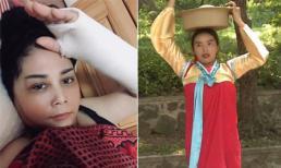 Sao Việt 3/9/2019: NSND Minh Hằng khóc tu tu vì bất ngờ bị gãy tay phải; Kỳ Duyên gặp tình huống dở khóc dở cười bởi vòng một 'khủng'