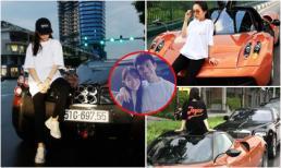 Con gái thiếu gia Minh Nhựa thể hiện thú chơi siêu xe không thua kém bố