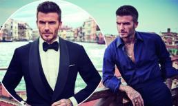 David Beckham điển trai lãng tử như điệp viên 007 thế này, vợ nào lỡ bỏ