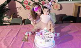 Nguyễn Hồng Nhung tổ chức sinh nhật 2 tuổi ấm cúng cho con gái nhỏ