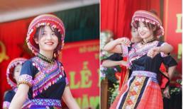 Múa 'Để Mị nói cho mà nghe' ở lễ khai giảng: Nữ sinh Thái Nguyên được xin info ầm ầm