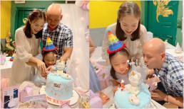 Tiệc sinh nhật 6 tuổi ngập sắc hồng của con gái Phan Đinh Tùng và Thái Ngọc Bích