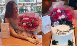 Á hậu Lệ Hằng đón sinh nhật tuổi 26 giản dị bên người thân