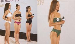 Body nóng bỏng của Thúy Vân, Hương Ly và dàn thí sinh casting Hoa hậu Hoàn vũ 2019