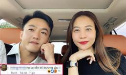 Cường Đô La phản ứng gắt khi Đàm Thu Trang bị nói lấy anh vì tiền