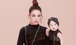 Trà Ngọc Hằng tung bộ ảnh cùng con gái 1 tuổi xứng danh 'mẹ con thời trang của showbiz'