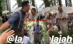 'Kẻ cưỡng hiếp Lam Khiết Anh' cười như được mùa trong đám cưới con trai