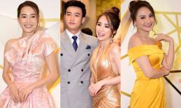 Thảm đỏ VTV Awards 2019: Nhã Phương lại để lộ body gầy gò, Quốc Trường sóng đôi với Nhã 'tiểu tam' mặc 'vợ' lẻ bóng