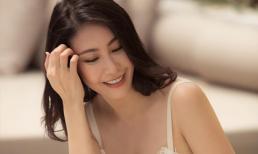 Hoa hậu Hà Kiều Anh chào đón ngày chủ nhật với loạt hình gam trắng ngọt ngào