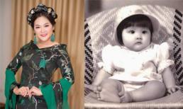 Lộ ảnh thời bé đáng yêu như búp bê của ca sĩ Như Quỳnh