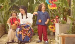Ngắm bộ ảnh mới của Elly Trần và hai con để thấy Tết Trung thu đã cận kề rồi