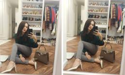 Hương Giang idol khiến fans phát thèm khi hé lộ tủ giày hàng hiệu
