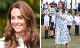 Công nương Kate Middleton thanh lịch với đầm họa tiết hoa giá gần 50 triệu đồng