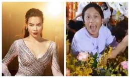 Hà Hồ chia sẻ khoảnh khắc Hoài Linh trêu mình: 'Hồ Ngọc Hà ơi, con đang ngồi làm hoa cho cô đây'