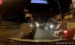 Tài xế ô tô hoảng hồn trước kiểu bán vé số kỳ lạ, và đầy nguy hiểm của người phụ nữ ở Sài Gòn