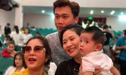 Con trai Thanh Thuý - Đức Thịnh lần đầu được dự lễ giỗ tổ