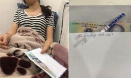 Tình cũ của chồng gửi quà mừng đầy tháng con, người vợ khóc ròng khi mở phong bì