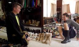 Vũ Hà hé lộ tủ giày hàng hiệu 'siêu to khổng lồ' của Đàm Vĩnh Hưng khiến dân tình choáng váng