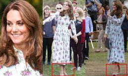 Kate đi đôi giày Nữ hoàng Anh ghét nhưng vẫn khiến dân tình 'phục lăn' vì đạt ngưỡng đỉnh cao tiết kiệm như Công nương Diana