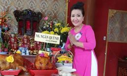 'Mẹ chồng quốc dân' Ngân Quỳnh về viện dưỡng lão dự lễ giỗ tổ và lì xì cho nghệ sĩ già