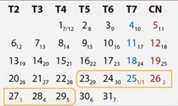 Chốt phương án nghỉ Tết Nguyên đán Canh Tý: NLĐ được nghỉ 2 ngày cuối năm và 3 ngày đầu năm