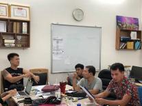 Các nghệ sĩ Quốc Khánh, Công Lý, Xuân Bắc tập chương trình Táo Quân sớm để chuẩn bị cho Tết?