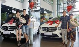 Diễn viên 'Về nhà đi con' Hoàng Kim Ngọc tặng xế hộp cho bố mẹ chồng
