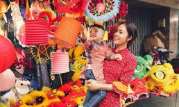 Tan chảy với khoảnh khắc ngọt ngào của Dương Cẩm Lynh và con trai dịp Trung thu