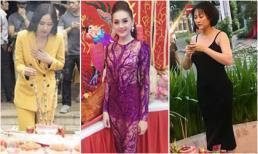 Trước Phương Mỹ Chi, Đào Bá Lộc nhiều nghệ sĩ Việt cũng từng bị chê mặc đồ phản cảm khi đi cúng Tổ nghề