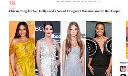 NTK Công Trí liên tục xuất hiện trên Vogue, Harper Bazaar Mỹ