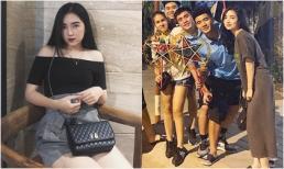 Hà Đức Chinh lần đầu lộ diện cùng bạn gái hot girl nóng bỏng trong một khung hình
