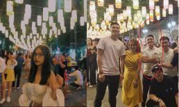 Nhật Lê - Quang Hải 'khéo' để lộ hình ảnh đi chơi trung thu cùng nhau