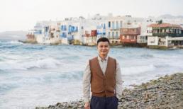 Quang Vinh khám phá những địa điểm đẹp như mơ ở Hy Lạp