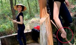 Đăng ảnh về quê mẹ sau ồn ào lộ 'clip nóng', hot girl Trâm Anh bị 'soi' điểm này