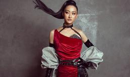 Hoa hậu Lương Thuỳ Linh mặt lạnh như băng, hút mắt khi trở thành vedette