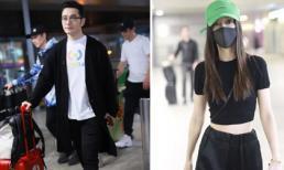 Huỳnh Hiểu Minh - Angelababy: Kẻ trước người sau lẻ bóng đến sân bay, phớt lờ câu hỏi về đối phương