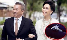 'Nữ hoàng ảnh lịch' Diễm My được chồng tặng nhẫn kim cương 5 tỷ nhân kỷ niệm ngày cưới
