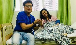NSND Kim Cương nhập viện cấp cứu khiến mọi người lo lắng không yên
