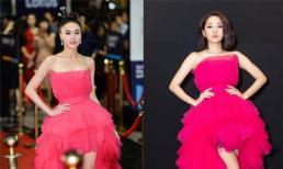 Ninh Dương Lan Ngọc diện đụng váy với Bảo Anh, dân mạng nhận xét gì?