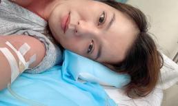 Lý Thanh Thảo nhập viện vì huyết áp hạ thấp, chóng mặt và người mệt lả